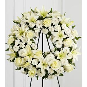 S3-4442 The FTD Treasured Tribute Wreath