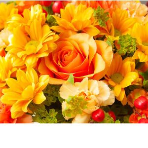 Florist's choice autumn bouquet